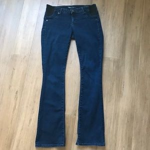 Gap Maternity baby boot jeans with stretch